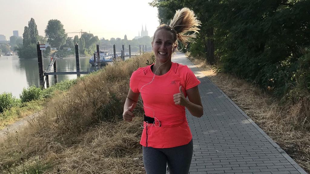 Lisa Uriel ist Redakteurin bei RTL und hat ein großes Ziel: Den Halbmarathon 2019 in Köln laufen.