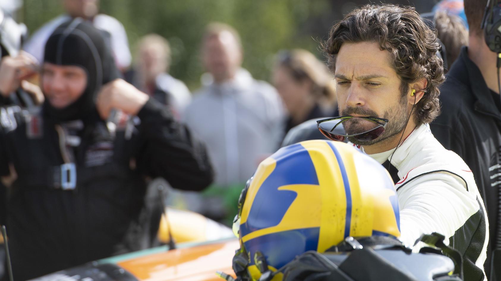 Prinz Carl Philip von Schweden ist leidenschaftlicher Rennfahrer