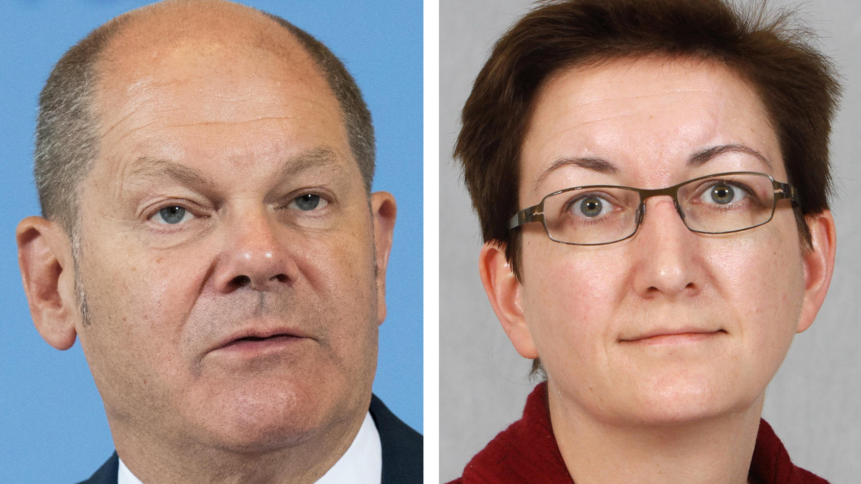Neues Duo für den SPD-Parteivorsitz: Olaf Scholz tritt mit Klara Geywitz an.