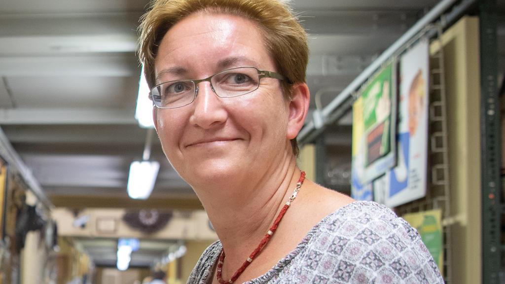 Klara Geywitz, SPD-Landtagsabgeordnete in Brandenburg