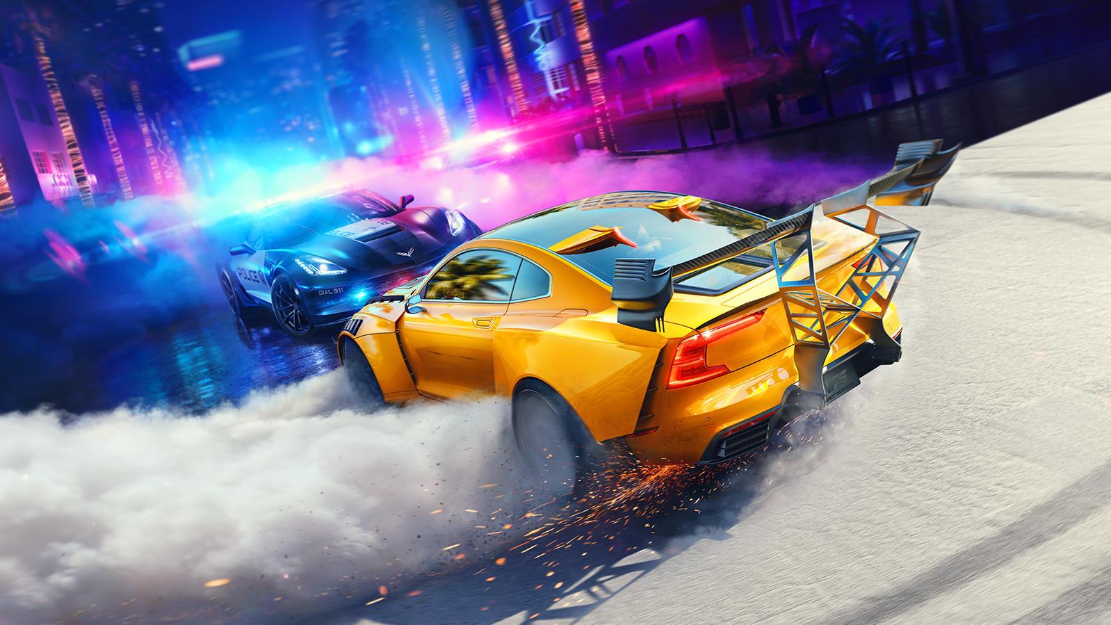 """Bei """"Need for Speed Heat"""" erwartet die Spieler sehr viel Fahrspaß."""