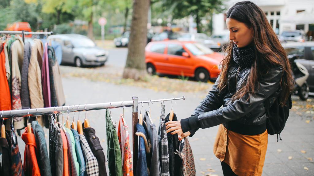 Flohmarkt-Shopping ist nachhaltig