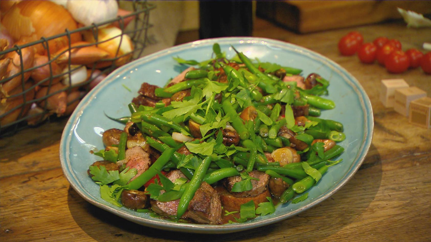 Überraschung! – Spontan kreative Gerichte zaubern:   Überraschungsgericht – Lämmchen im Gemüsegarten