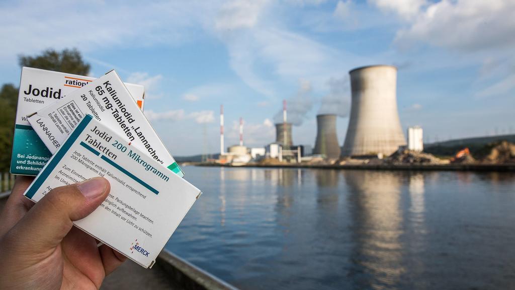Jodtabletten für den Fall einer Atomkatastrophe