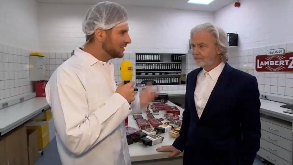 Inhaber der Schokoladenfabrik Henry Lambertz