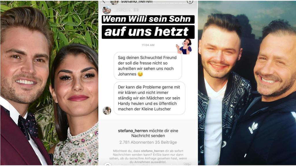 Stefano Herren greift Johannes Haller via Instagram an.