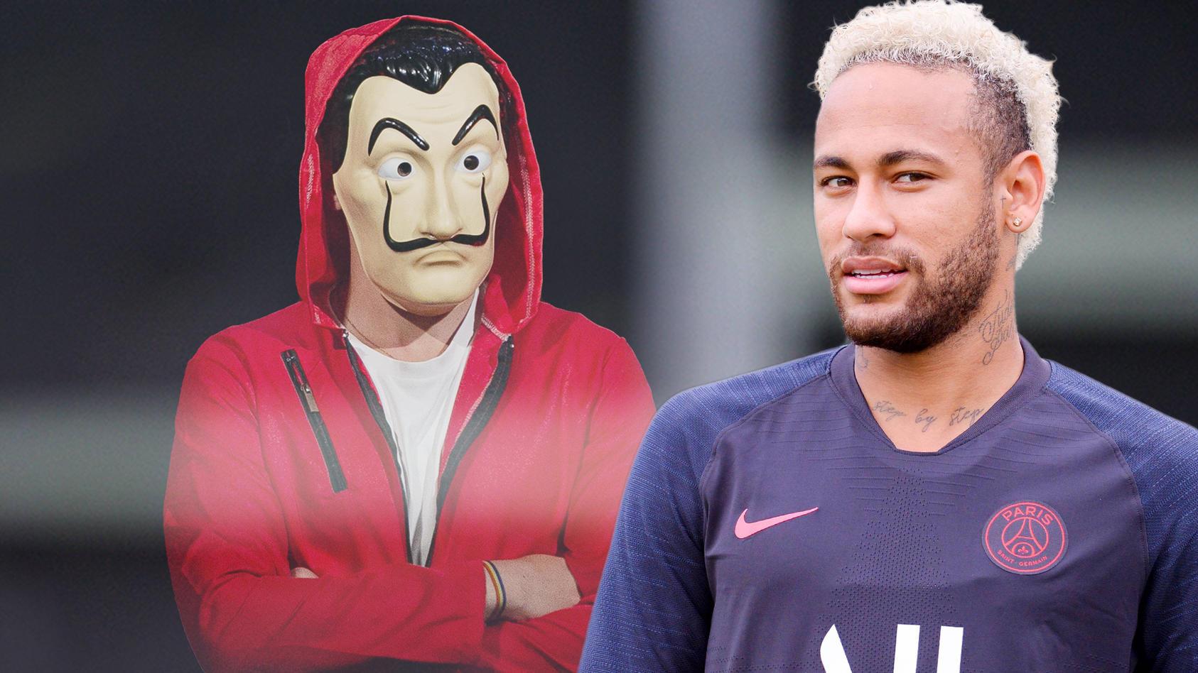 Neymar Bekommt Gastrolle In Netflix Serie Haus Des Geldes