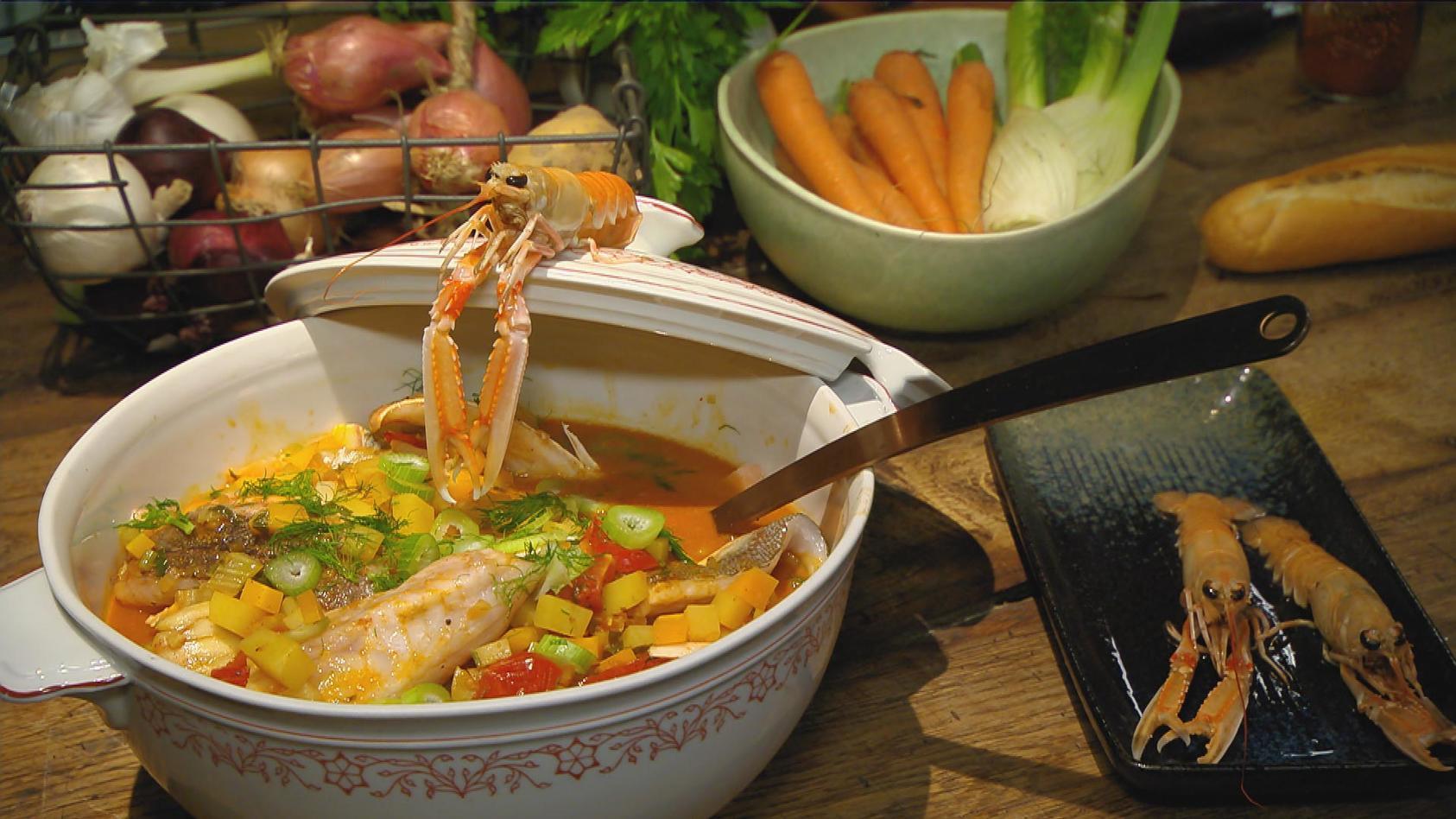 Gerichte mit Geschichte – legendäre Rezepte mit Vergangenheit: Bouillabaisse
