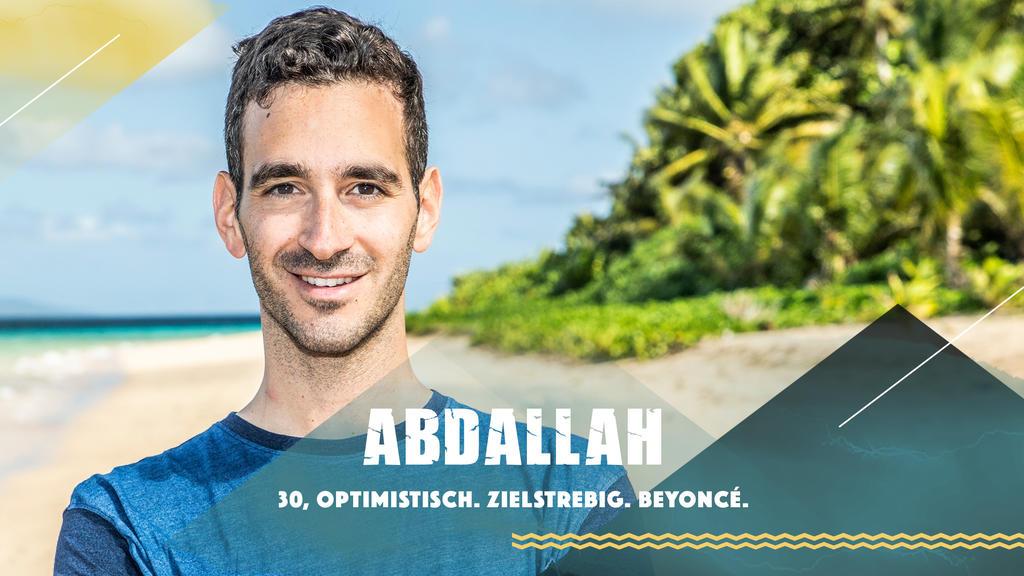 """Abdallah stellt sich bei """"Survivor"""" 2019 dem härtesten Spiel der Welt."""