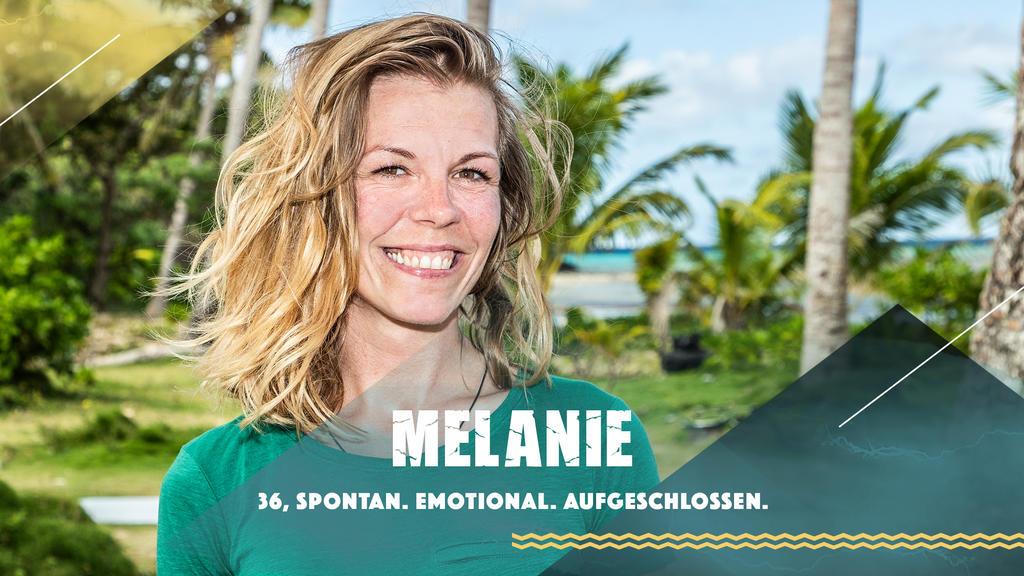 """Melanie stellt sich bei """"Survivor"""" 2019 dem härtesten Spiel der Welt."""