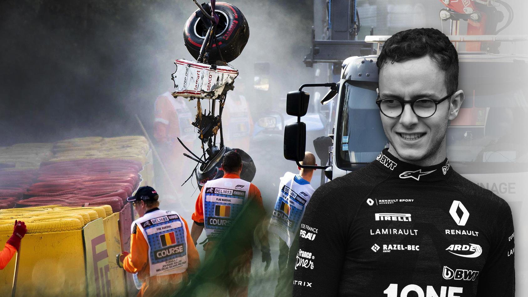 Antoine Hubert stirbt bei einem Unfall im Formel-2-Rennen in Spa