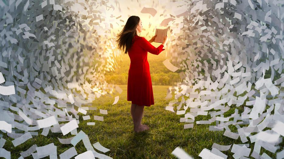 Tolle Bücher ziehen uns in andere Welten.