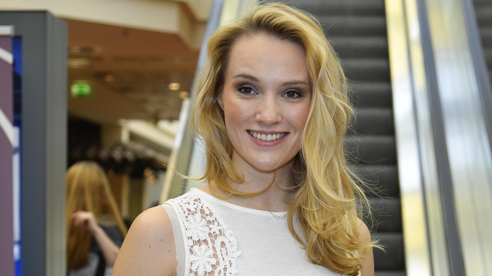 Anna Hofbauer erwartet ihr erstes Kind.