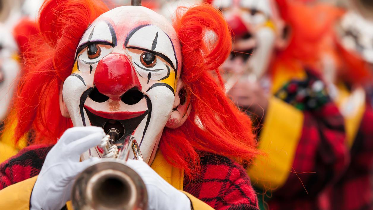 Coulrophobie: Darum haben Menschen Angst vor Clowns.