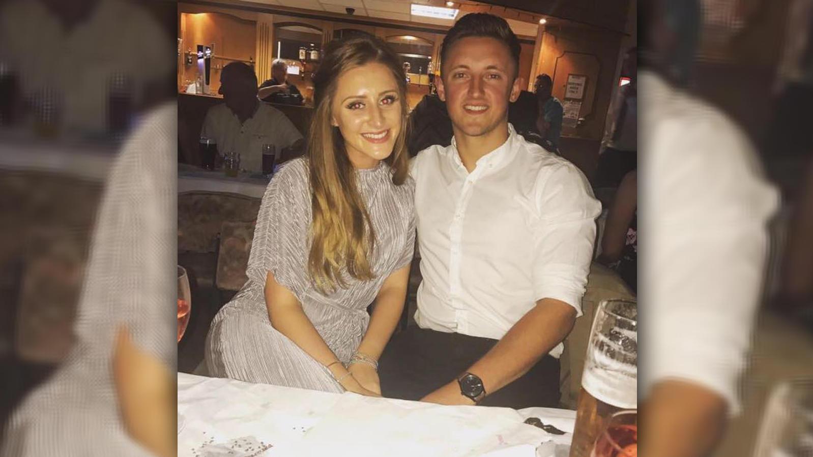 Grace Baker-Padden und ihr Freund Joe Cowling freuten sich auf den Ultraschall.