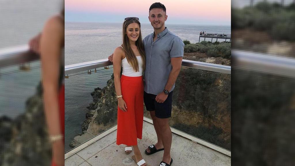 Grace Baker-Padden und ihr Freund Joe Cowling hoffen, eines Tages wirklich ein Baby zu bekommen.
