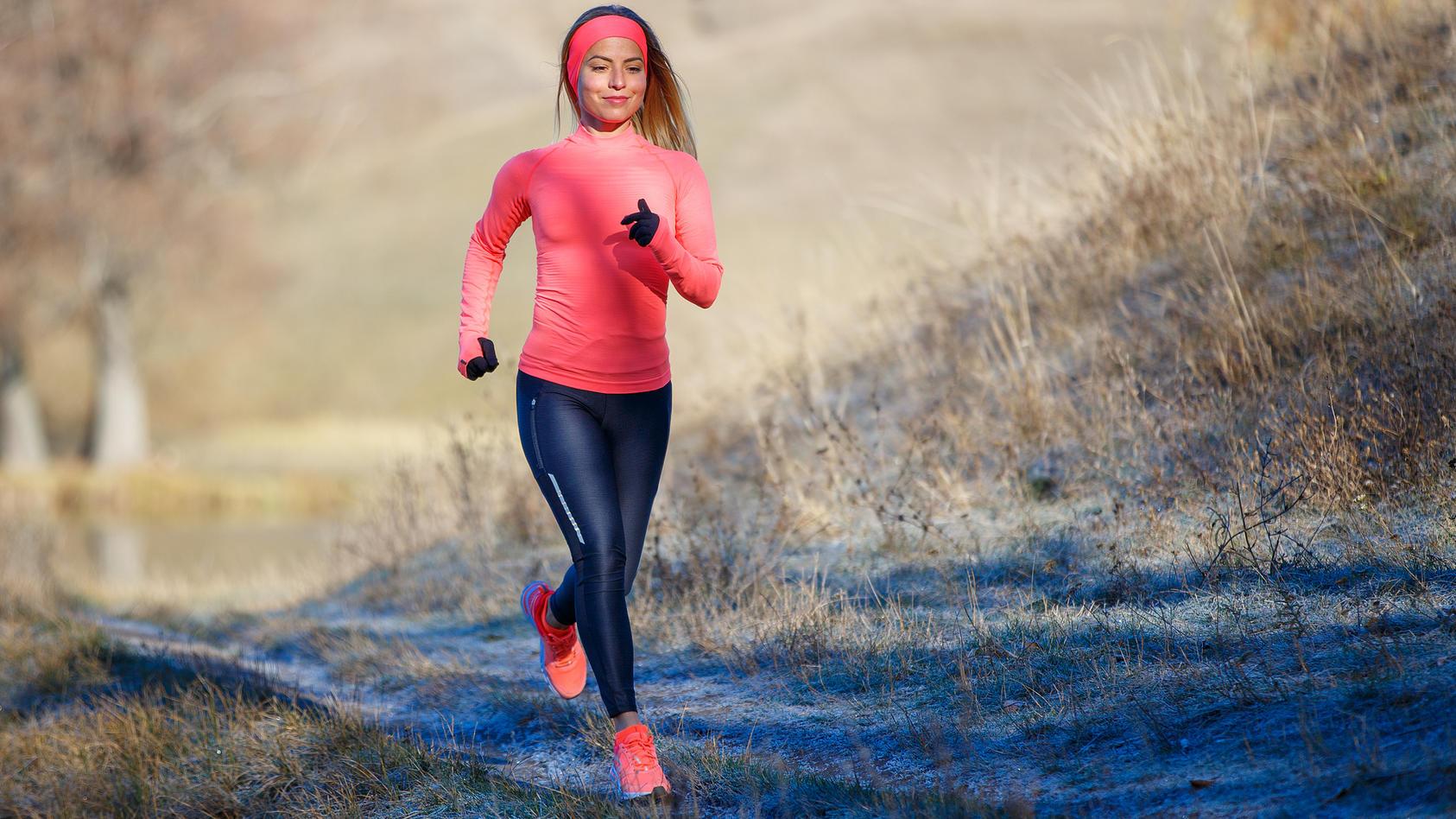 Auch in der kälteren Jahreszeit ist ein gesundes und sicheres Lauftraining möglich