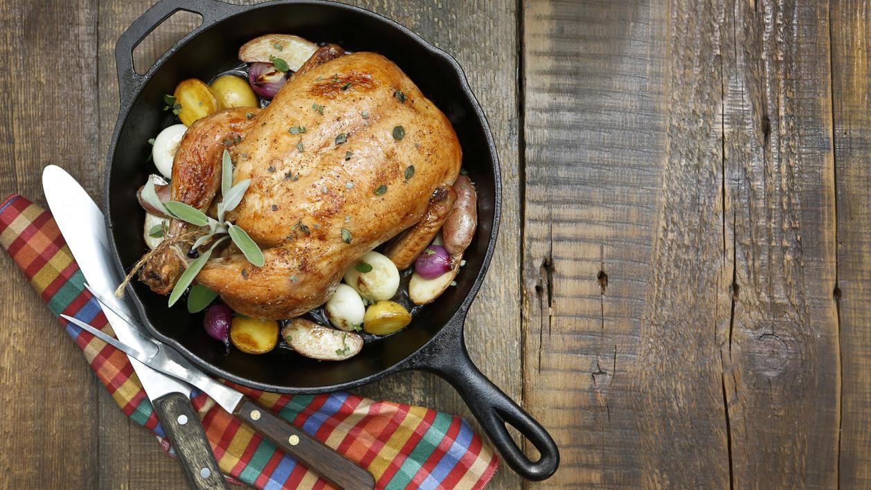 Studie der Universität Oxford: Geflügelfleisch kann Krebs-Risiko erhöhen.