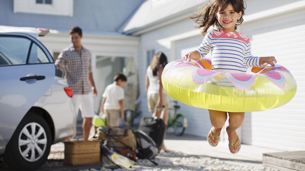 Wenn einfach alles stimmt mit dem der Ferienwohnung, kann der Urlaub beginnen.