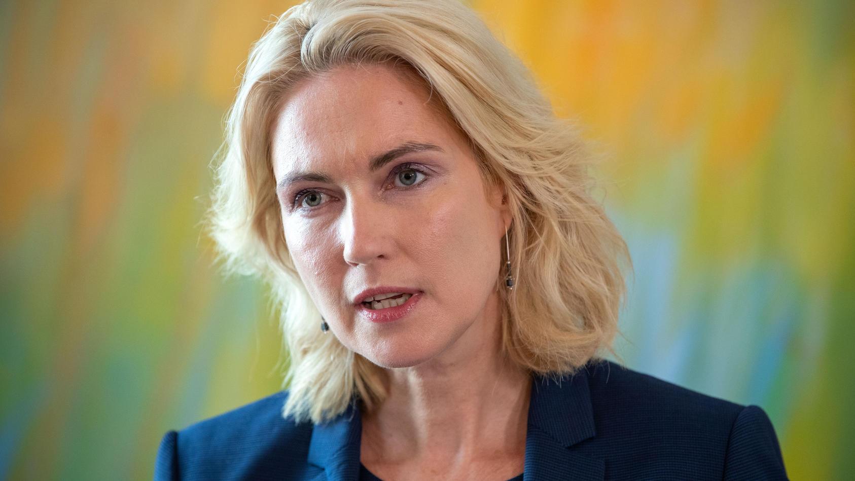 Manuela Schwesig gibt Amt bei der Bundes-SPD auf.