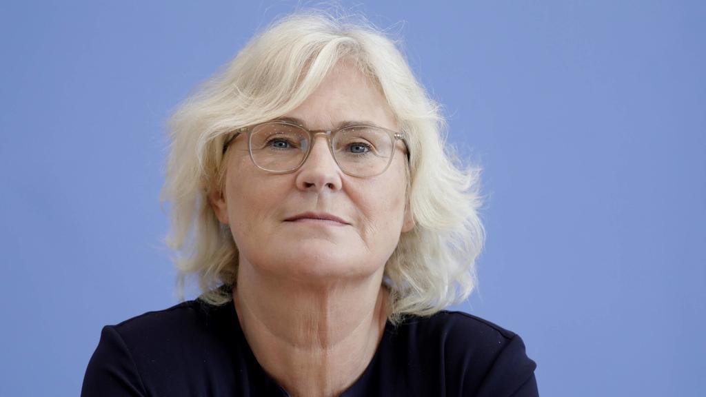 Christine Lambrecht, Bundesministerin der Justiz und fuer Verbraucherschutz (SPD) in Berlin. (17.08.2019)
