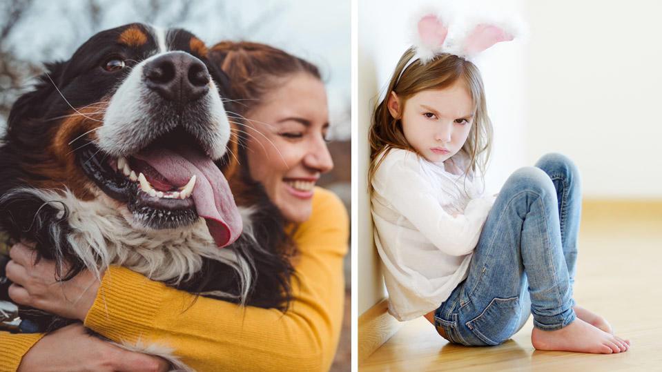 Hund oder Kind? Wen lieben amerikanische Eltern mehr?