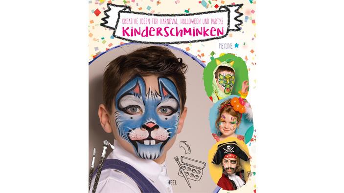 """""""Kinderschminken"""" ist im HEEL Verlag erschienen"""
