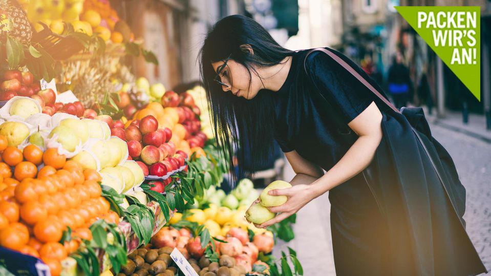 Nachhaltig einkaufen ist mit der richtigen Vorbereitung ganz leicht.