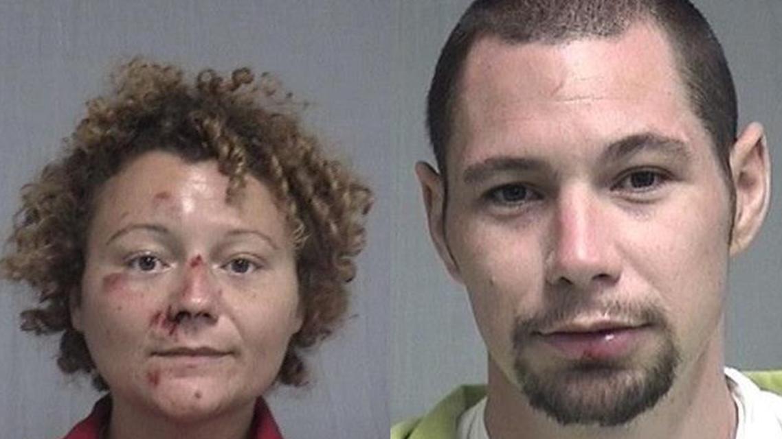 Megan und Aaron wurden eigentlich wegen Fahren unter Alkoholeinfluss verhaftet.
