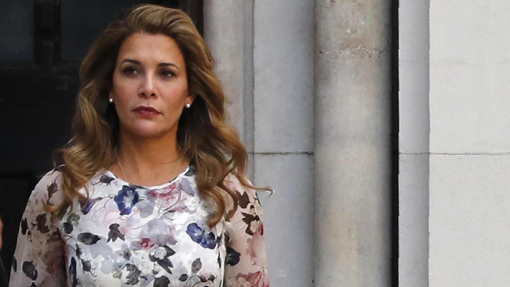 Prinzessin Haya ist in London untergetaucht.