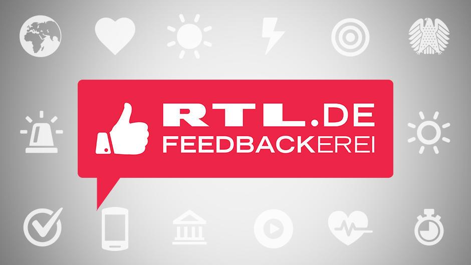 RTL.de Feedbackerei