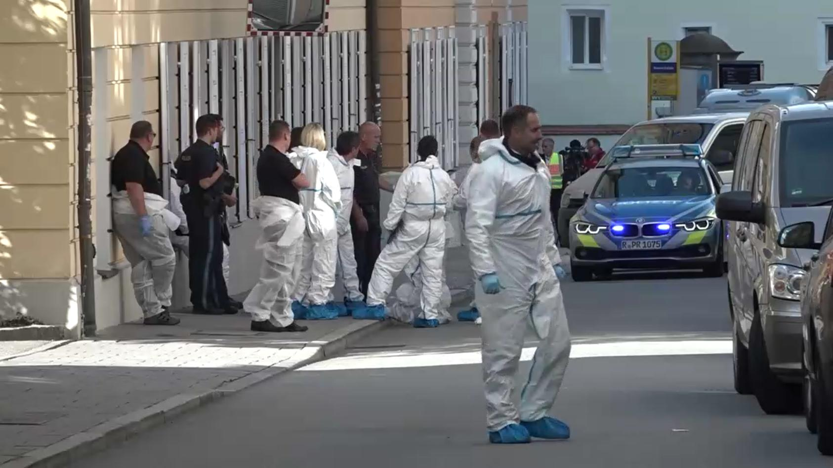 Regensburg Brand in einer Wohnung mit zwei Toten.