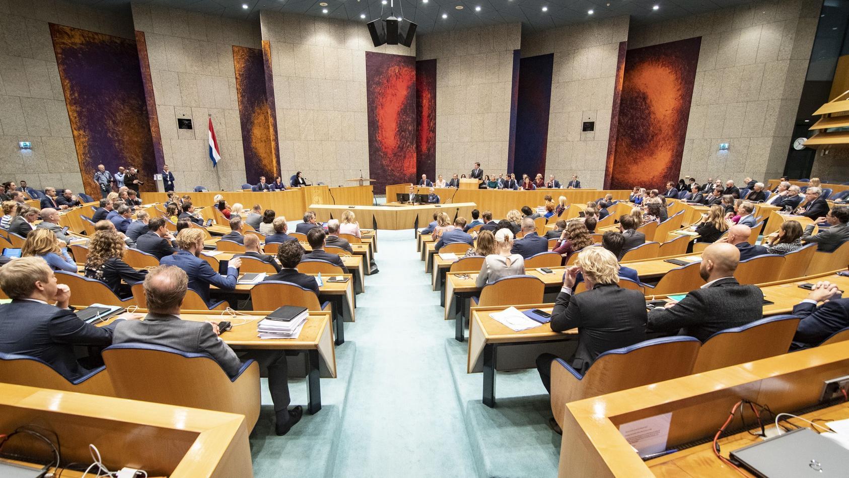 DEN HAAG, 18-09-2019, Dag 2 van de Algemene Politieke Beschouwingen in the Tweede Kamer Parlement House. Dag 2 Algemene