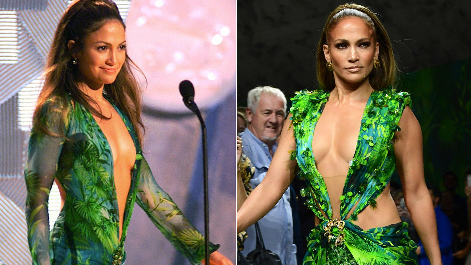 Jennifer Lopez trägt wieder ihr Grammy-Kleid vom Jahr 2000