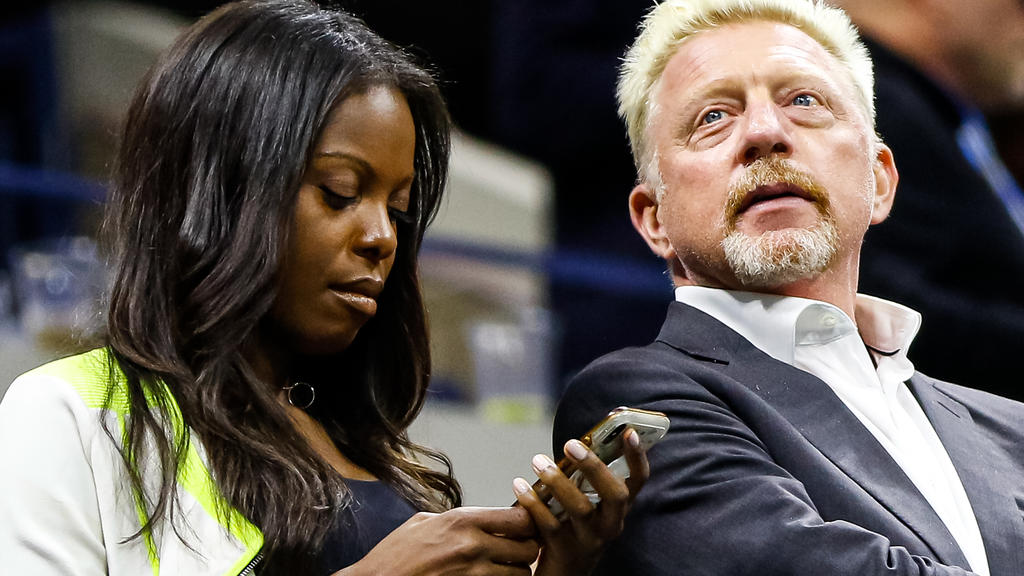 Boris Becker und die schöne Unbekannte