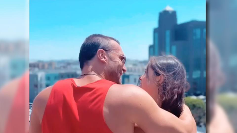 Bastian Yotta mit seiner neuen Freundin Marisol.