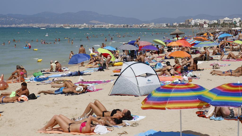 Schönes Wetter auf Mallorca.