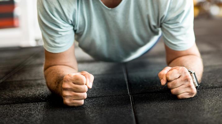Spannend und gleichzeitig entspannend, dieses Fitness-Yoga.