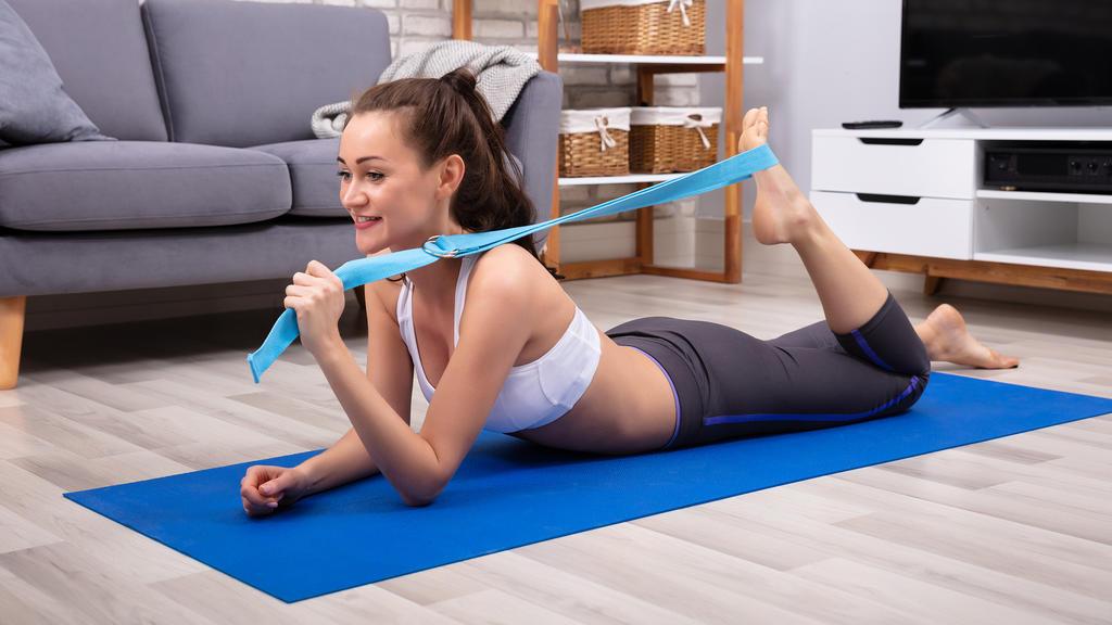 Yogagurt: Tiefere Dehnungen und eine bessere Balance