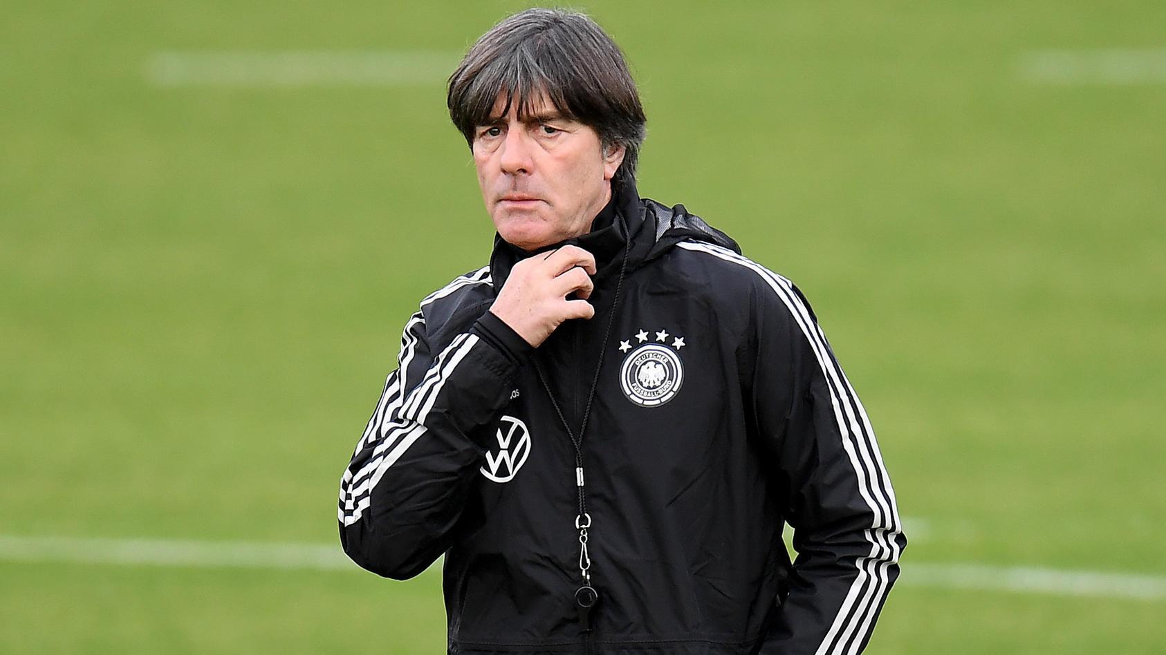 Fußball: DFB Nationalmannschaft, Training im BVB Leistungszentrum am 07.10.2019 in Dortmund, Joachim Löw, Loew, ganze Fi