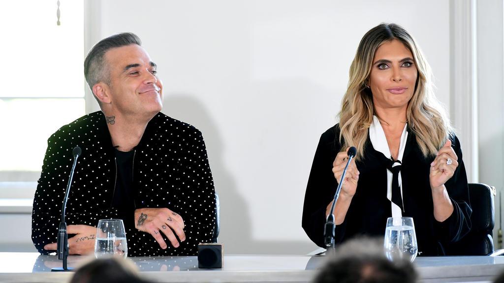 Robbie Williams und seine Frau Ayda Field sind 2010 nach Haiti gereist, um nach dem Erdbeben zu helfen.