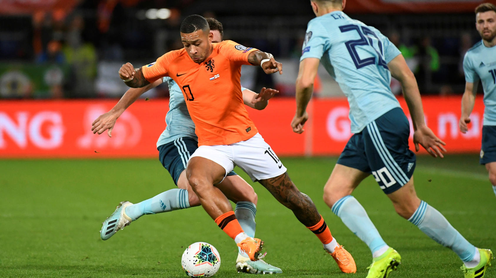 Euro 2020 Qualifier - Group C - Netherlands v Northern Ireland