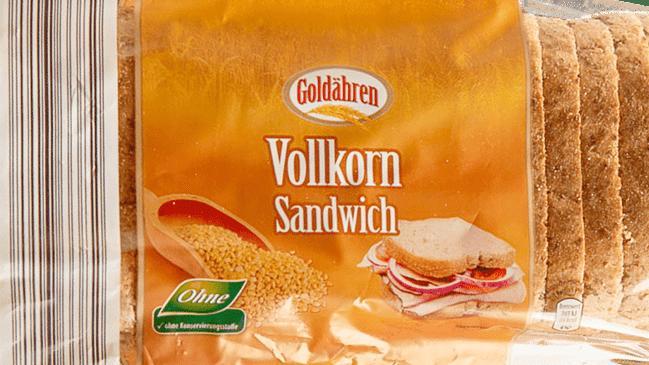 Wegen der Gefahr von Hartplastiksplittern wurde unter anderem diese Toastsorte bei Aldi-Nord zurückgerufen.