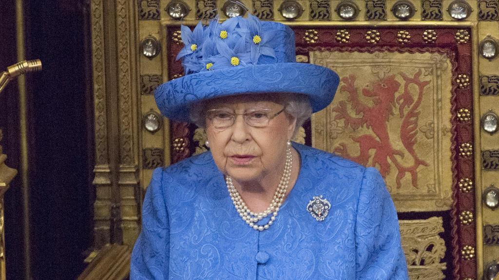 Queen Elisabeth II. beim State Opening 2018