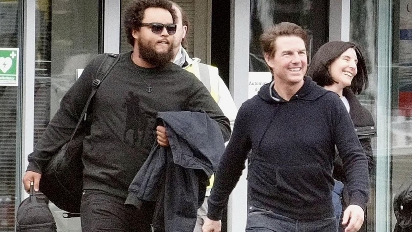 Tom Cruise ist mit seinem Sohn Connor in London unterwegs.