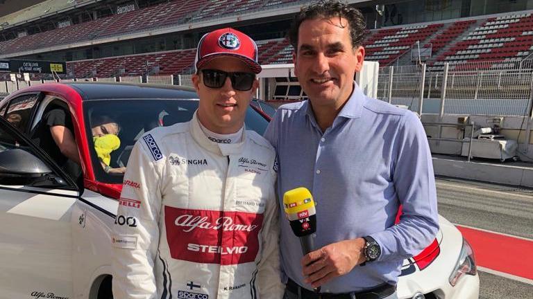 Felix Görner führte schon lange Interviews mit Kimi Räikkönen - unter anderem dieses Jahr anlässlich des 300. GP des Finnen