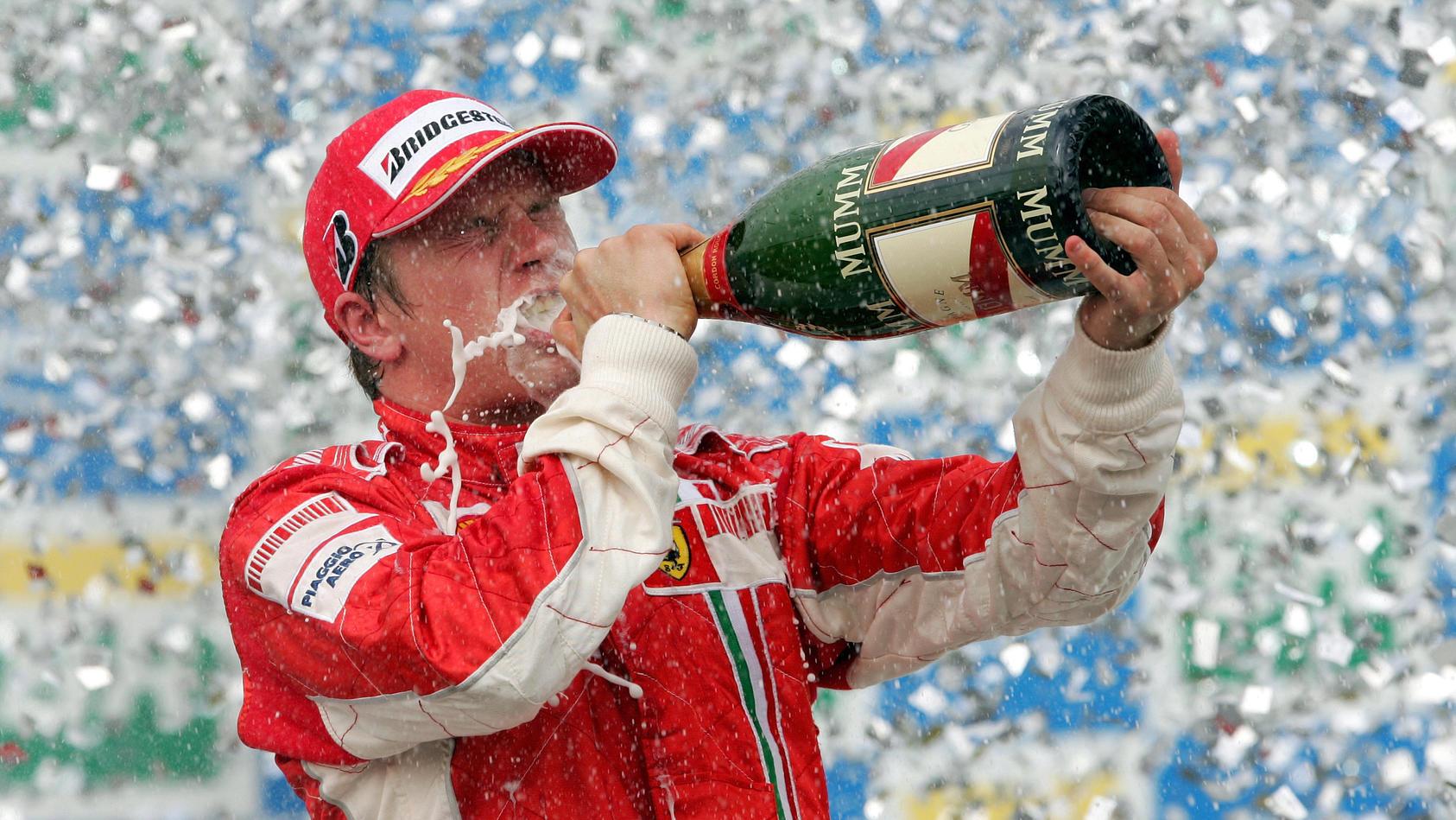 Kimi Räikkönen - Formel-1-Weltmeister 2007