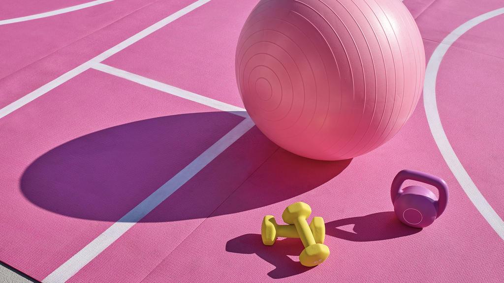 Aufnahmen vom Sportplatz im Barbie Malibu Dreamhouse