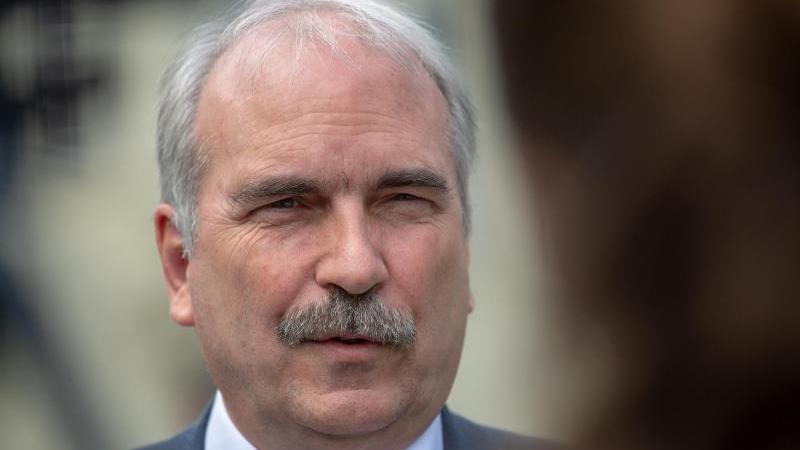 Martin Gorholt (SPD), Chef der Brandenburger Staatskanzlei, aufgenommen nach einer Kabinettssitzung. Foto: Monika Skolimowska/zb/dpa