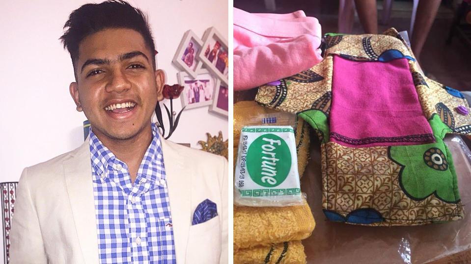 Ziyaan Virji will, dass alle Mädchen Zugang zu Hygieneartikeln haben - und hat eine wiederverwendbare Binde erfunden.